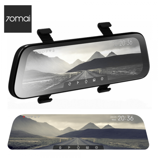 Oglinda retrovizoare cu camera 70mai Rearview Dash Cam Wide, display 9.35'', Full-HD 1080p, FOV 130°, varianta EU 2020 0