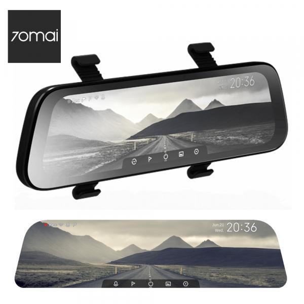 Oglinda retrovizoare cu camera 70mai, resigilata, Dash Cam Wide, 1080p, FOV 130°, varianta EU 2020 0