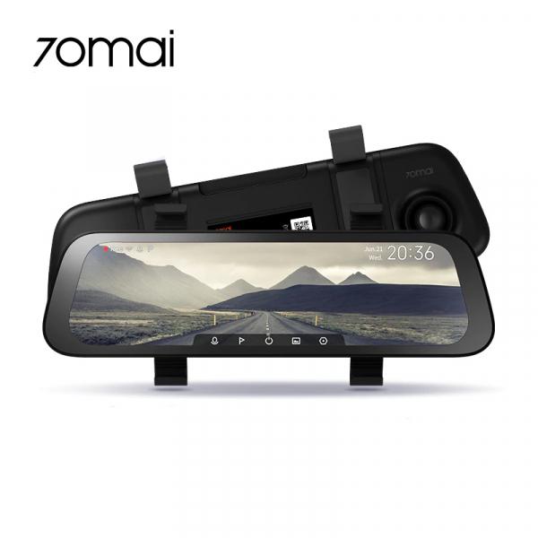 Oglinda retrovizoare cu camera 70mai, resigilata, Dash Cam Wide, 1080p, FOV 130°, varianta EU 2020 1
