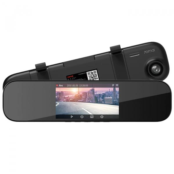 Oglinda retrovizoare smart Xiaomi 70mai, Wi-Fi, camera 1600P FHD, monitorizare parcare, Sony IMX335, EU 0