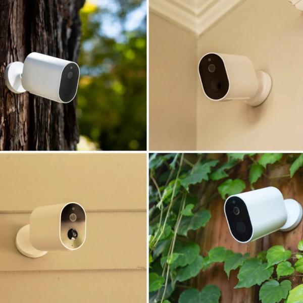 Pachet supraveghere video exterior Xiaomi Imilab EC2, 2 camere, gateway, versiune europeana, compatibil MI Home EU, 1080P, IP66, detectie miscare, infrarosu, AI 3