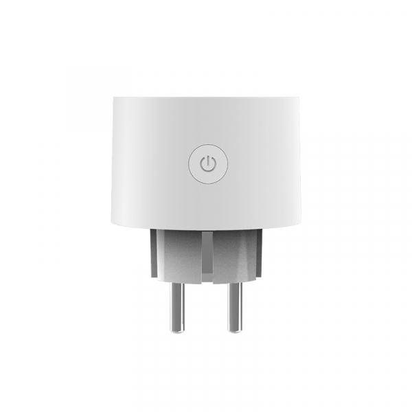Priza smart Aqara T1, versiune europeana, ZigBee 3.0, 10A, masurare consum, protectii multiple, suport control vocal, extender Zigbee 4