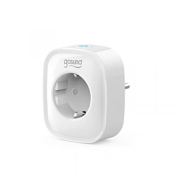 Priza smart Gosund, WiFi 2.4GHz, 2 x USB, acces de la distanta, 16A & 3680W, compatibila Smart Life, Google Home, Alexa [2]