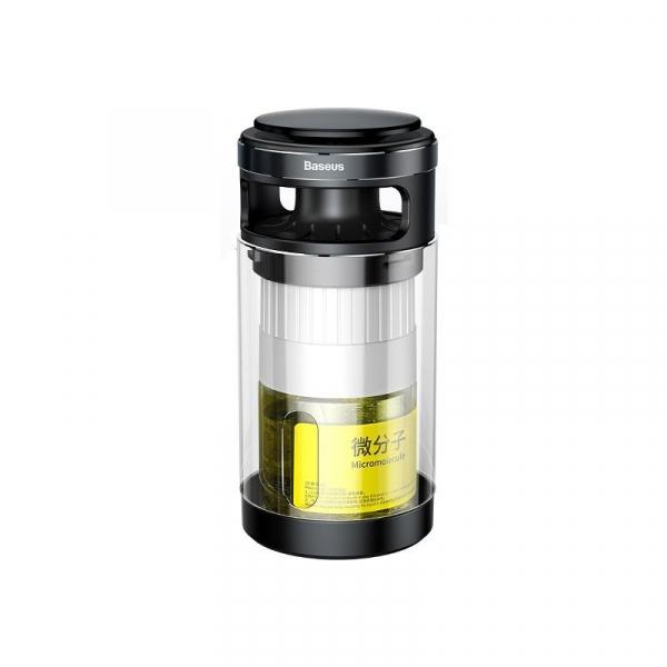 Pachet purificator aer auto Baseus anti-formaldehida, eliminare mirosuri, tester inclus, negru 3