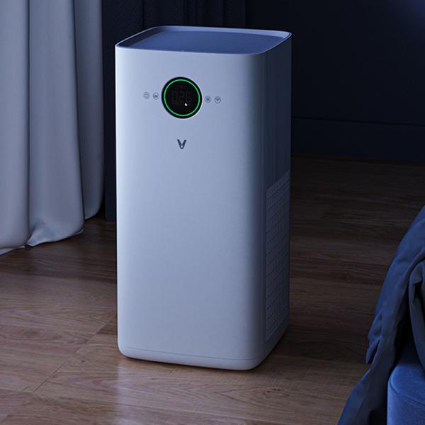 Purificator aer smart Viomi PRO EU, filtru Hepa, ioni de argint, carbon activ, sterilizare UV 99.9%, LED, control prin Mi Home 2