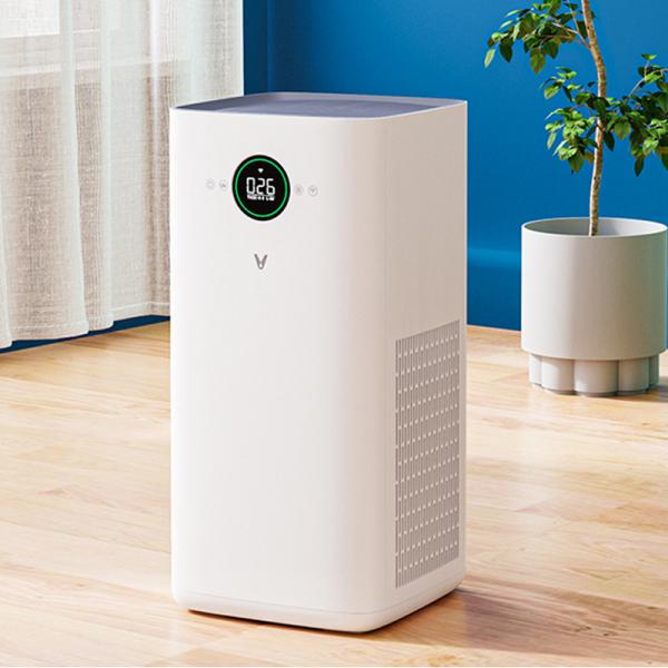 Purificator aer smart Viomi PRO EU, filtru Hepa, ioni de argint, carbon activ, sterilizare UV 99.9%, LED, control prin Mi Home 3