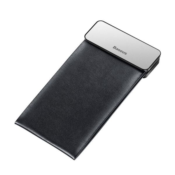 Rack auto Baseus Magic pentru depozitare obiecte, inchidere magnetica, adeziv 3M, silver 2