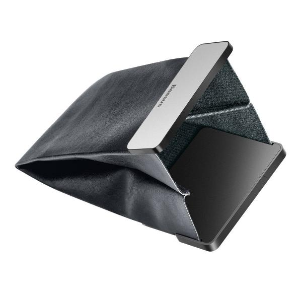 Rack auto Baseus Magic pentru depozitare obiecte, inchidere magnetica, adeziv 3M, silver 4