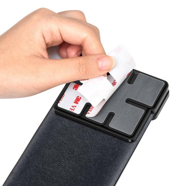 Rack auto Baseus Magic pentru depozitare obiecte, inchidere magnetica, adeziv 3M, silver 5