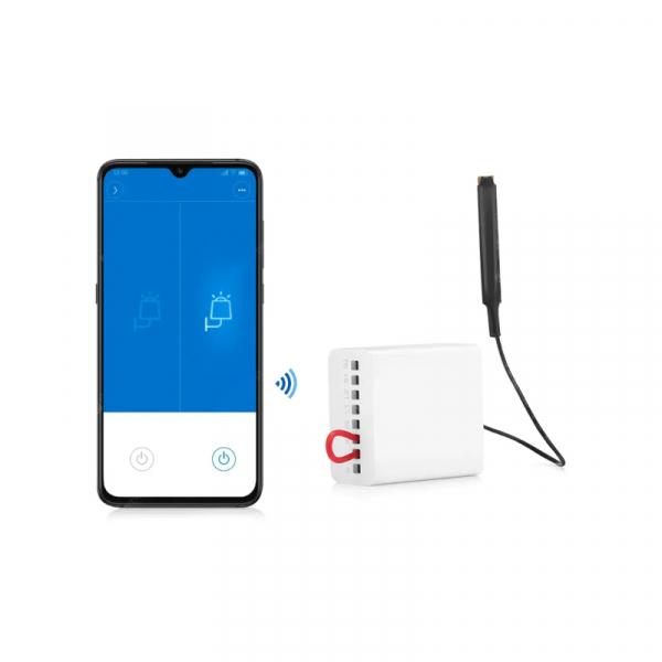 Releu smart Aqara wireless ZigBee, doua canale, ecosistem european, compatibil MI Home, Apple Homekit, Aqara Home 2