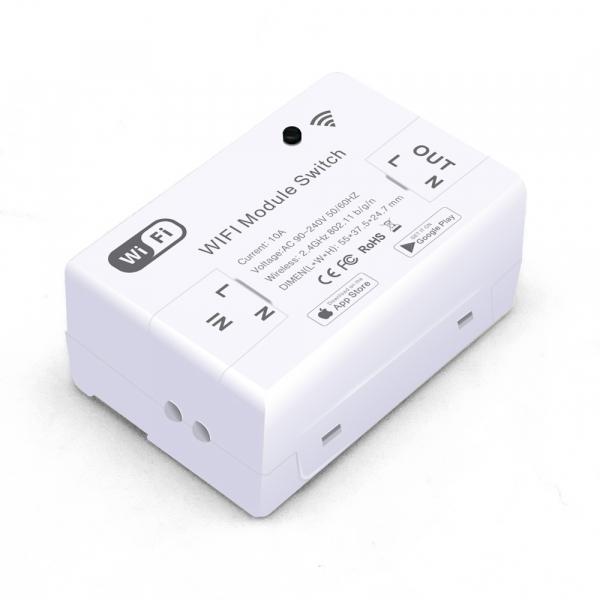 Releu wireless Vhub, 2.4Ghz, 10A, functie cu memorie, control prin aplicatie, compatibil Google, Alexa, IFTTT 0
