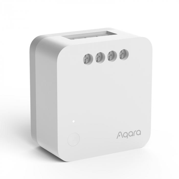 Releu Aqara T1 smart fara nul, versiune europeana, monitorizare consum, ZigBee 3.0, compatibil Google Home, HomeKit 0