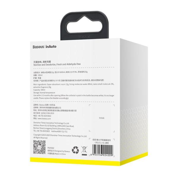 Rezerva pentru device purificare aer & odorizant auto micromolecular Baseus, 100ml [4]