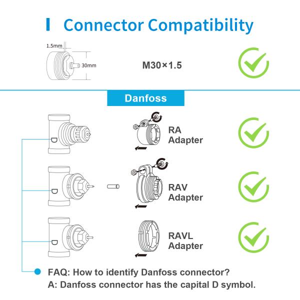 Robinet suplimentar inteligent cu termostat pentru kitul Meross, acces din aplicatie, compatibil Alexa, Google Home, IFTTT, EU 4
