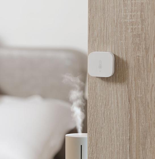 Senzor Aqara monitorizare umiditate, temperatura, presiune, ZigBee, pentru smart home Mi, Aqara 2