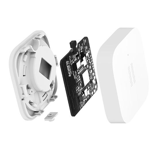 Senzor detectare vibratii Aqara, ZigBee, pentru ecosistemele smart home Mi sau Aqara 1