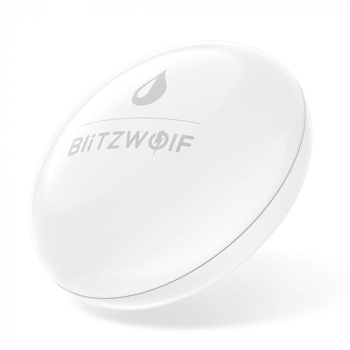 Senzor de inundatie Blitzwolf BW-IS9, ZigBee 3.0, IP64 pentru ecosistemul smart home Tuya & Smart Life 0