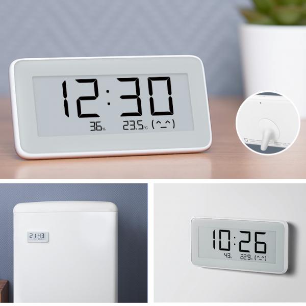 Ceas Xiaomi Mijia, senzori masurare umiditate, temperatura, display E-ink, bluetooth 4.0, resigilat 5