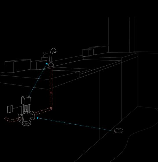 Senzor alerta de inundatie Aqara Xiaomi pentru Smart Home, ZigBee, bluetooth, IP67 2