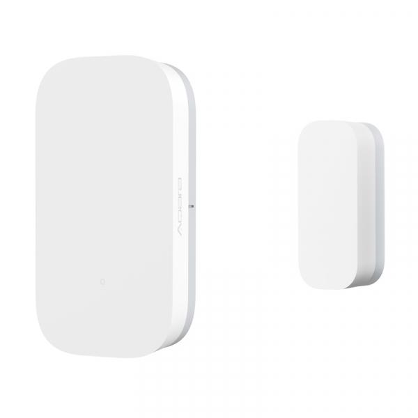 Senzor magnetic Aqara, pentru usi sau ferestre, ZigBee, versiune europeana, compatibil Homekit, MI Home EU 2