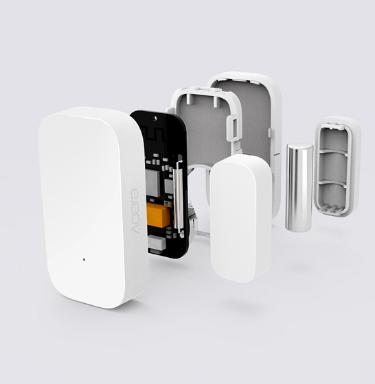 Senzor magnetic smart Aqara, montare pe usa sau ferestre, compatibil Apple HomeKit sau Mi Home App 3