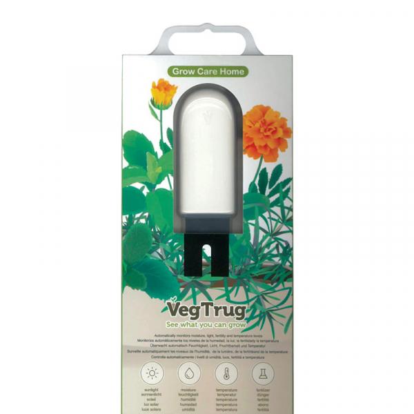 Senzor smart pentru cresterea plantelor VegTrug Grow Care, bluetooth, 4 senzori, varianta EU, aplicatie Android & iOS 1