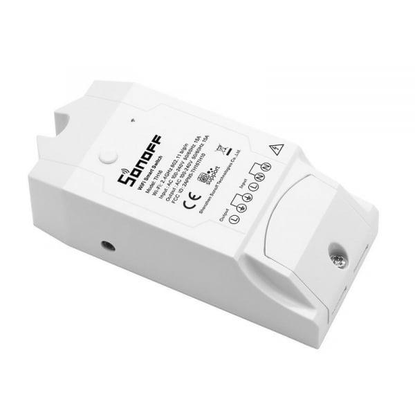 Releu wireless Sonoff TH16, 15A 3500W, pentru automatizare in functie de temperatura sau umiditate 1