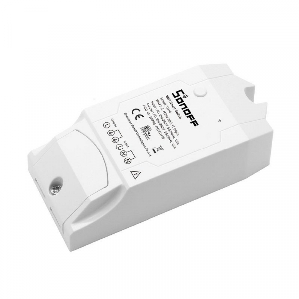 Releu wireless Sonoff TH16, 15A 3500W, pentru automatizare in functie de temperatura sau umiditate 2