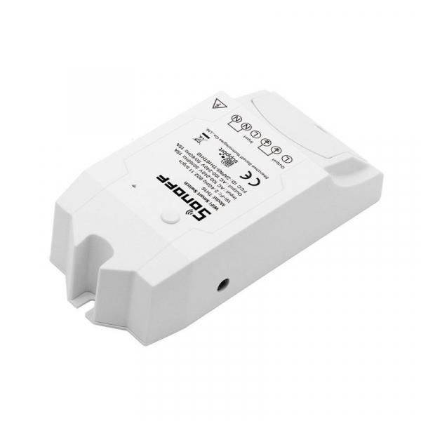 Releu wireless Sonoff TH16, 15A 3500W, pentru automatizare in functie de temperatura sau umiditate 4