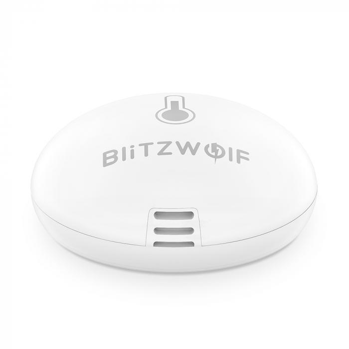 Senzor ZigBee detectie umiditate si temperatura Blitzwolf BW-IS8 pentru ecosistemul smart home Tuya & Smart Life 4
