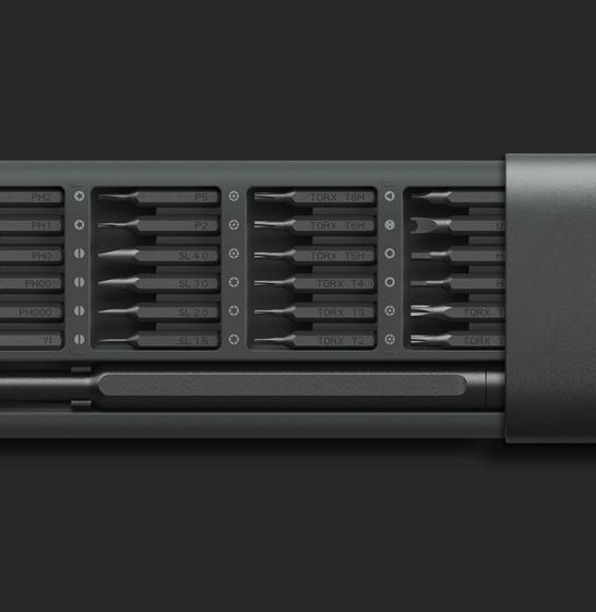 Set surubelnita de precizie Xiaomi Mijia Wiha cu 24 capete cu stocare magnetica 1