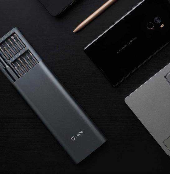 Set surubelnita de precizie Xiaomi Mijia Wiha cu 24 capete cu stocare magnetica 2