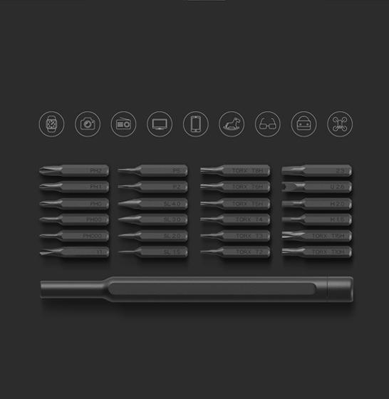 Set surubelnita de precizie Xiaomi Mijia Wiha cu 24 capete cu stocare magnetica 3