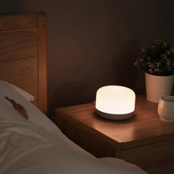 Lampa Yeelight Bedside D2, touch control, Wi-Fi, W-RGB, 5W, compatibila Google, Alexa, Homekit, SmartThings 2
