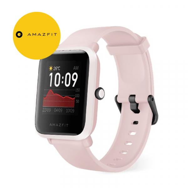 Smartwach Xiaomi Amazfit BIP S, waterproof, 40 zile autonomie, GPS Sony, Biotracker PPG, bluetooth 5.0, warm pink 0