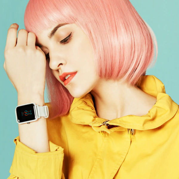Smartwach Xiaomi Amazfit BIP S, waterproof, 40 zile autonomie, GPS Sony, Biotracker PPG, bluetooth 5.0, warm pink 3