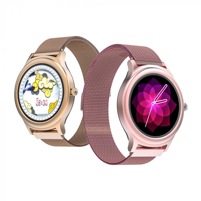 Smartwatch BlitzWolf BW-AH1, bluetooth 5.0, SPO2, waterproof IP67, 160mAh, tracking 24 moduri sport, notificari, silver 3