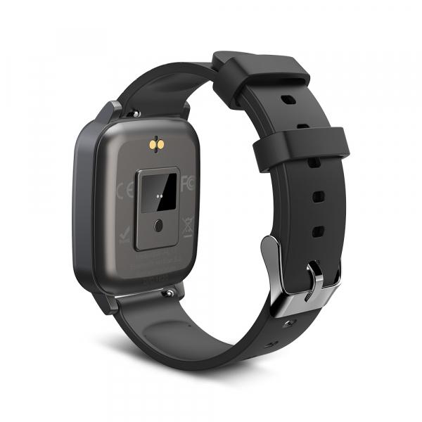 Smartwatch BlitzWolf BW-HL1T masurare temperatura corporala, ritm cardiac, bluetooth 5.0, notificari, activitati sportive 3