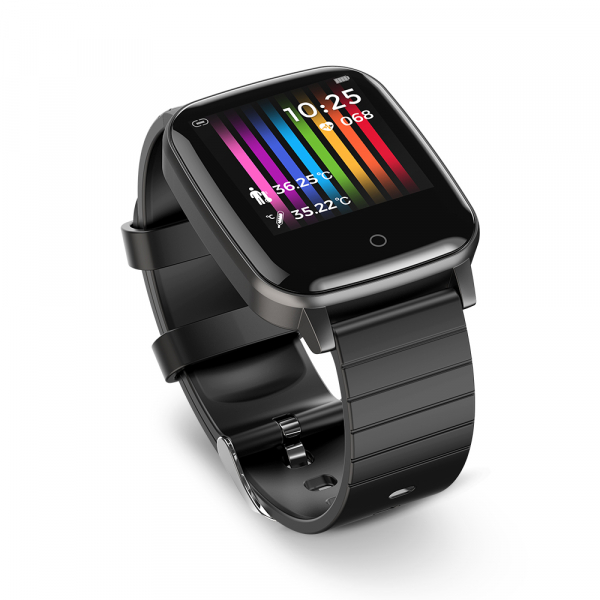 Smartwatch BlitzWolf BW-HL1T masurare temperatura corporala, ritm cardiac, bluetooth 5.0, notificari, activitati sportive 2