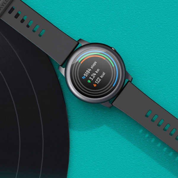 Smartwatch Xiaomi Haylou LS05 Solar EU, 12 moduri sport, bluetooth 5.0, waterproof IP68, PPG, monitorizare somn, negru 4