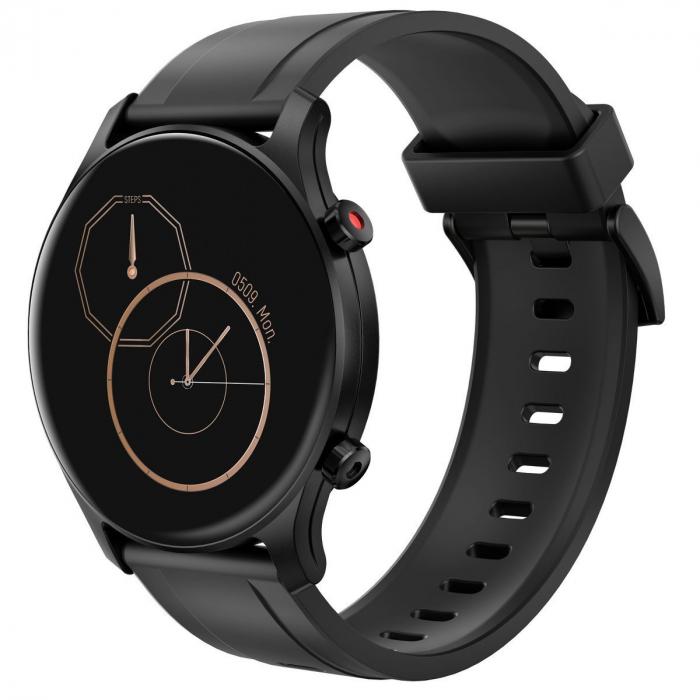 Smartwatch Haylou RS3 2021, senzor SPO2, display Amoled HD, GPS Sony integrat, waterproof 5ATM, monitorizare 14 sporturi, notificari, negru [0]
