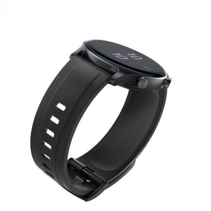 Smartwatch Haylou RS3 2021, senzor SPO2, display Amoled HD, GPS Sony integrat, waterproof 5ATM, monitorizare 14 sporturi, notificari, negru [5]