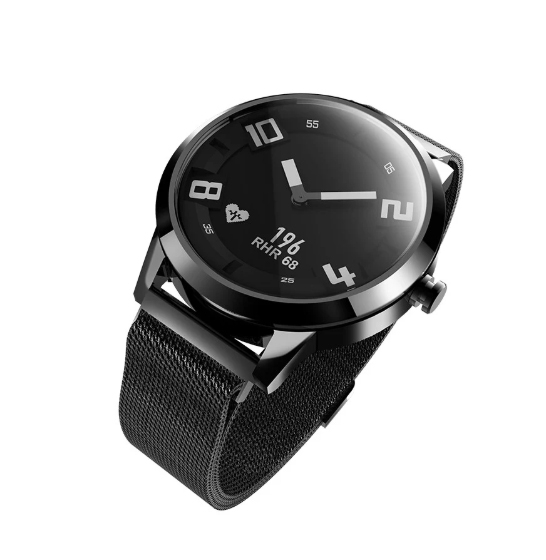 Ceas Lenovo Watch X hibrid, Oled, bluetooth 5.0, 45 zile autonomie, HR, pedometru, waterproof 3
