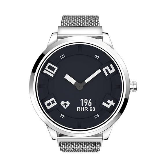 Ceas Lenovo Watch X hibrid, Oled, bluetooth 5.0, 45 zile autonomie, HR, pedometru, waterproof, Silver 0