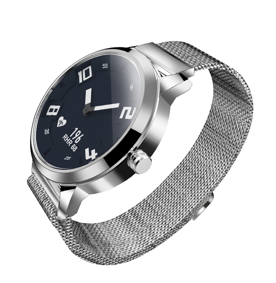 Ceas Lenovo Watch X hibrid, Oled, bluetooth 5.0, 45 zile autonomie, HR, pedometru, waterproof, Silver 1