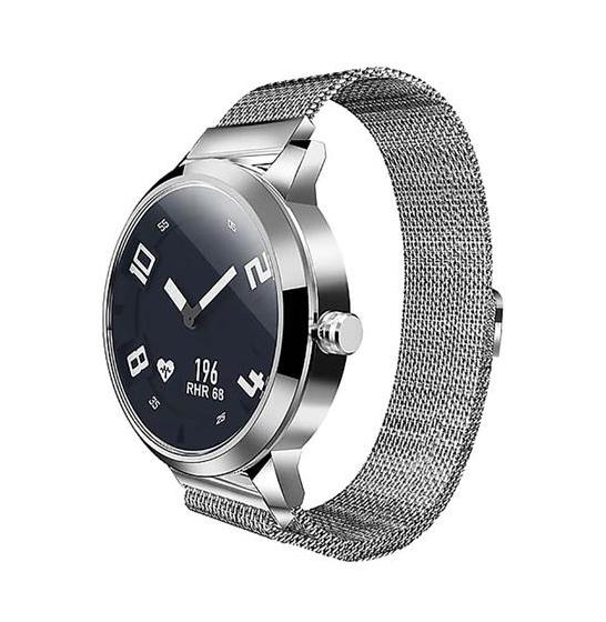 Ceas Lenovo Watch X hibrid, Oled, bluetooth 5.0, 45 zile autonomie, HR, pedometru, waterproof, Silver 2