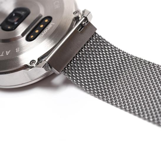 Ceas Lenovo Watch X hibrid, Oled, bluetooth 5.0, 45 zile autonomie, HR, pedometru, waterproof, Silver 3