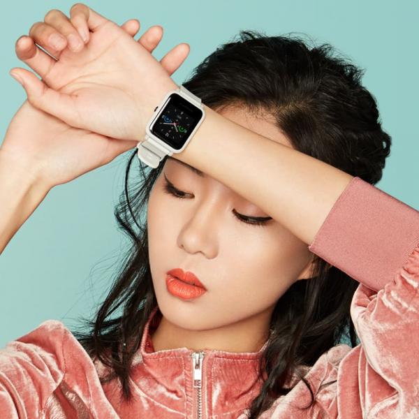 Smartwach Xiaomi Amazfit BIP S, waterproof, 40 zile autonomie, GPS Sony, Biotracker PPG, bluetooth 5.0, warm pink 2