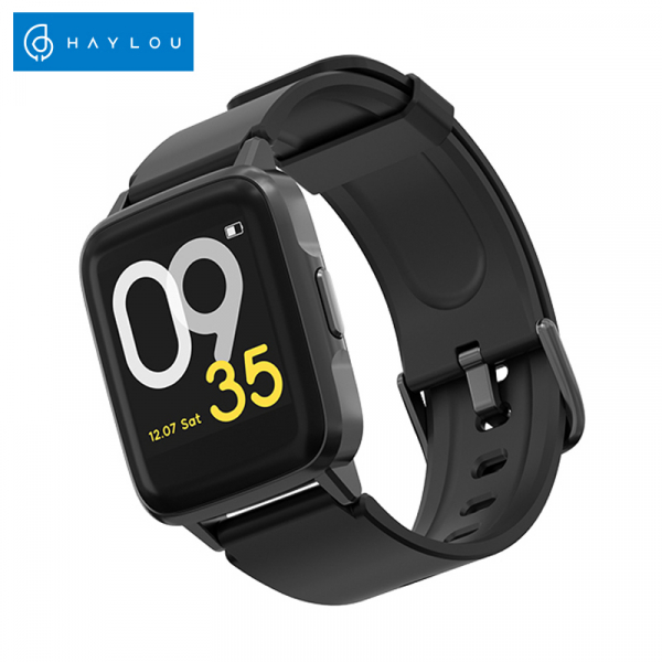 Smartwatch Xiaomi Haylou LS01, IP68 waterproof, 9 moduri sport, bluetooth, notificari, 14 zile autonomie, negru 0