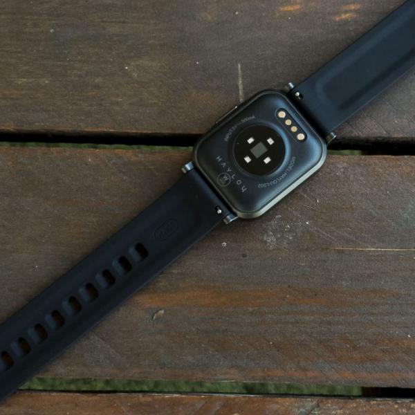 Smartwatch Xiaomi Haylou LS02 resigilat, versiune EU, bluetooth 5.0, 12 moduri sport, 20 zile autonomie, IP68, masurare ritm cardiac 2